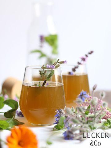 Rezept Wildkräuter-Limonade