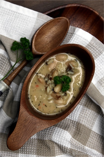 Rezept Wildreis-Bohnen-Suppe