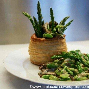 Rezept Wildspargel-Morchel-Pastetli