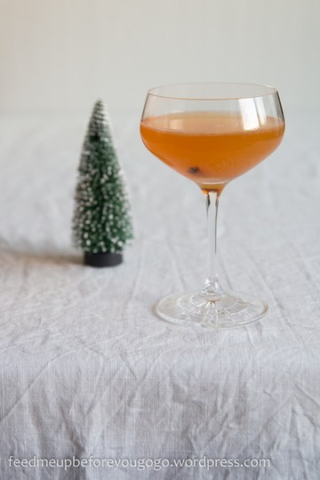 Rezept Winter-Daiquiri mir Clementine und Zimt