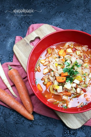 Rezept Winter-Minestrone