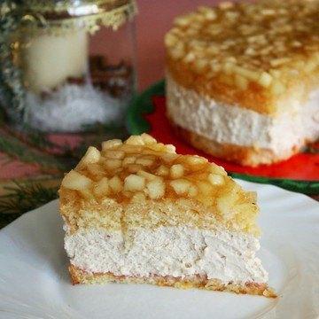 Rezept Winterapfel-Schmand Torte