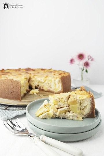 Rezept Winterlich würziger Apfel-Quark-Kuchen