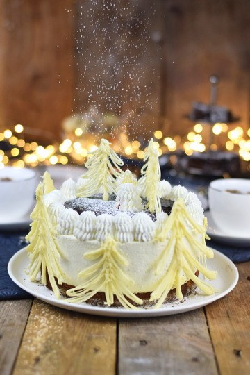 Rezept Winterliche Käse Sahne Torte