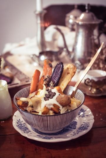 Rezept Winterliche Ofengemüse-Bowl