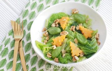 Rezept Wirsing-Salat – das neue Trend-Gemüse aus der Familie Kale