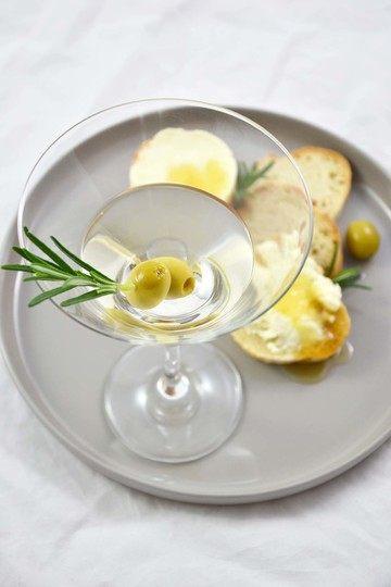 Rezept WodkaMartini - Baguette - Frischkäse