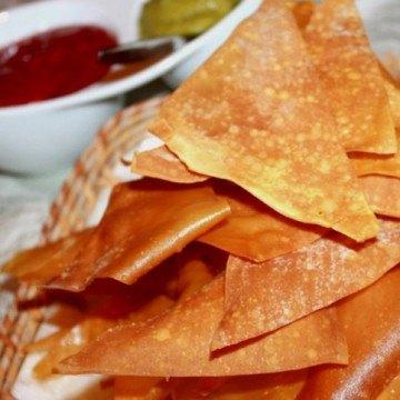 Rezept Wonton Chips