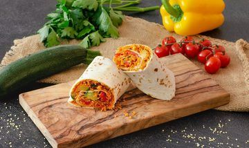 Rezept Wraps mit Couscous und Gemüse