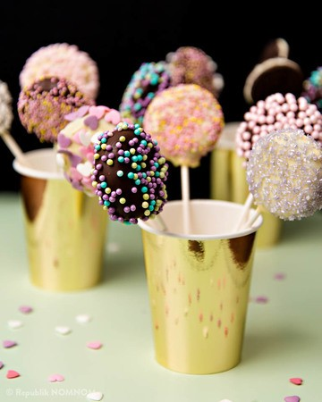 Rezept Wunderhübsche Oreo-Lollipops!