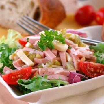 Rezept Wurst-Käse-Salat