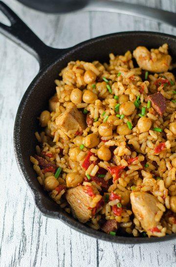 Rezept Würzige Reispfanne mit Chorizo