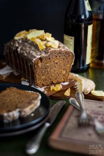 Rezept Würziger Ingwerkuchen mit Ginger Ale-Zuckerguss aus Irland