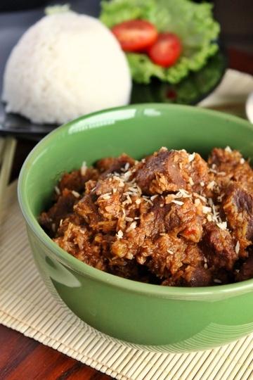 Rezept Würziges Rindfleisch Rendang aus Malaysia