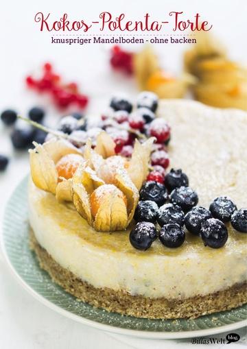Rezept Yummy No-bake Cake mit Beeren (vegan & glutenfrei)