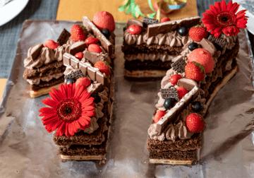 Rezept Zahlentorte (Numbers cake)