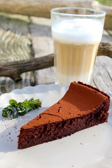 Rezept Zarter Mousse-au-Chocolat-Kuchen