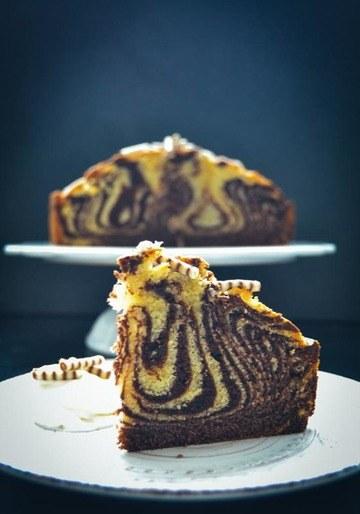 Rezept Zebrakuchen ein tierisch guter Marmorkuchen
