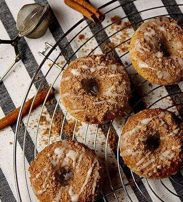 Rezept Zimt Donuts