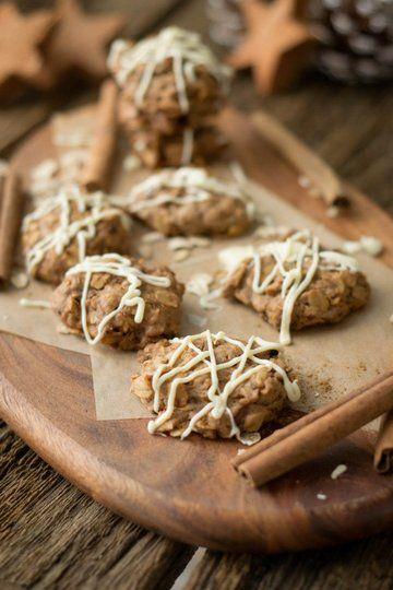 Rezept Zimt Hafer Cookies