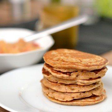 Rezept Zimtige Kürbis-Pancakes