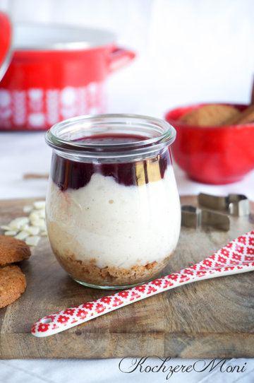 Rezept Zimtmilchreis mit Amaretto Kirschsoße