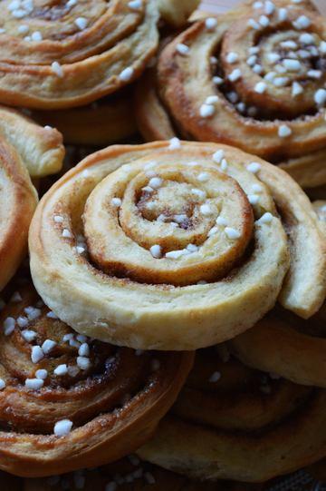Rezept Zimtschnecken -Kaneelsnicken