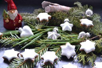 Rezept Zimtsterne mit Marzipan und Haselnüssen
