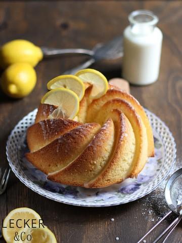 Rezept Zitrone-Buttermilch-Gugelhupf