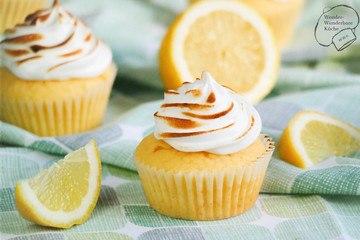 Rezept Zitronen-Baiser-Cupcakes