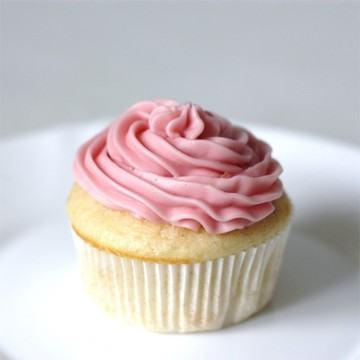 Rezept Zitronen Cupcakes mit Himbeer-Buttercreme