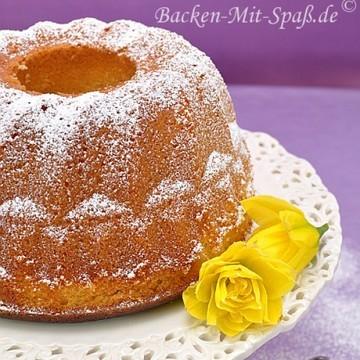 Rezept Zitronen- Gugelhupf