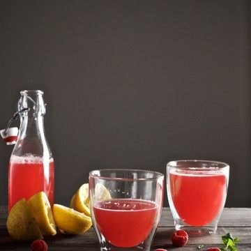 Rezept Zitronen-Himbeer-Limonade