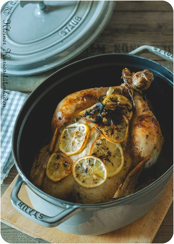 Rezept Zitronen-Kräuter-Hähnchen