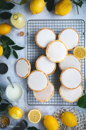 Rezept Zitronen-Mohn Amerikaner