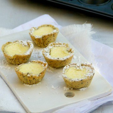 Rezept Zitronen-Mohn-Kaesekuchen