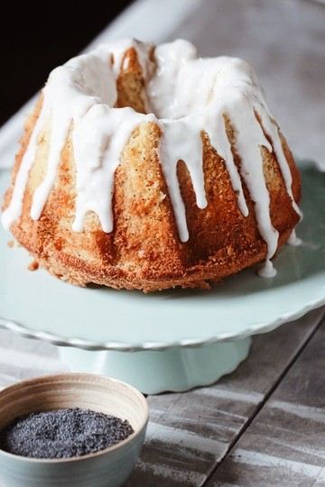 Rezept Zitronen-Mohn Kuchen