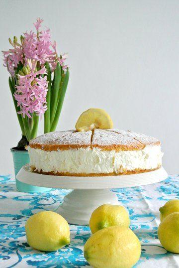 Rezept Zitronen Quark Torte