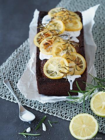 Rezept Zitronen-Rosmarin-Kuchen mit Mohn