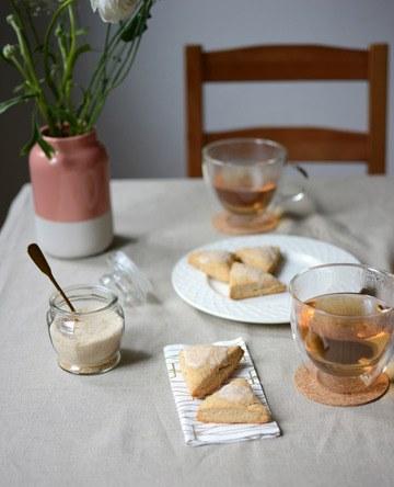 Rezept Zitronen-Scones mit einem Hauch Lavendel