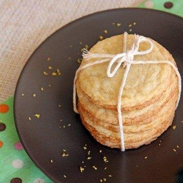 Rezept Zitronen Snickerdoodle Kekse