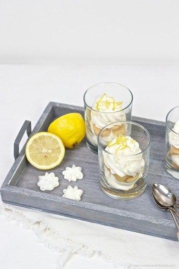 Rezept Zitronen Tiramisu mit Limoncello