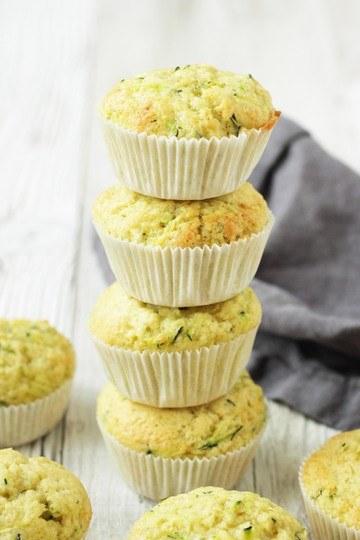 Rezept Zitronen-Zucchini Muffins