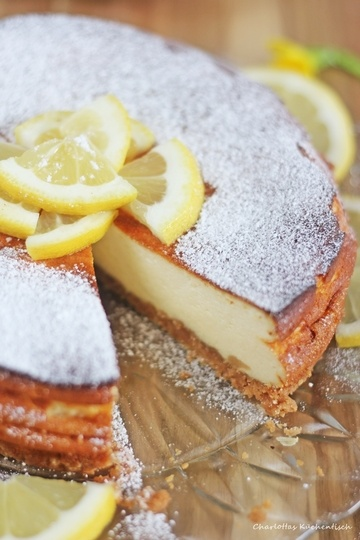 Rezept Zitronencheesecake