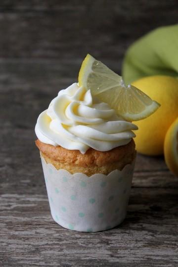 Rezept Zitronencupcakes