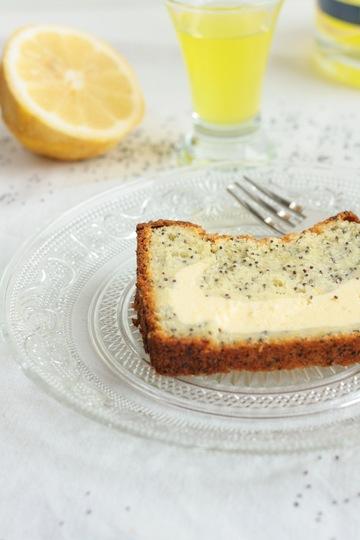 Rezept Zitronenkuchen mit Mohn und Käsekuchen-Füllung
