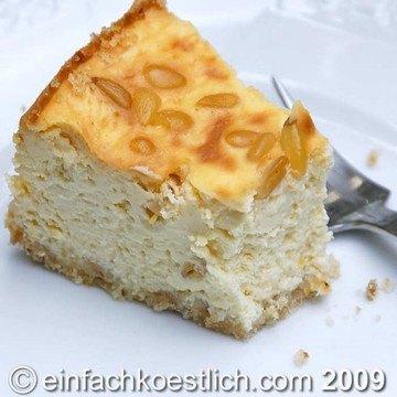 Rezept Zitronenkuchen mit Pinienkernen