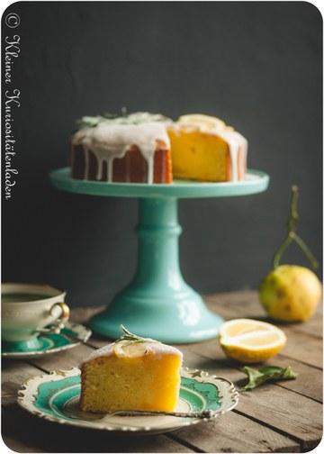 Rezept Zitronenkuchen mit Rapsöl