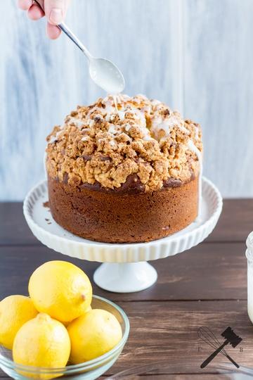 Rezept Zitronenkuchen mit Streuseln