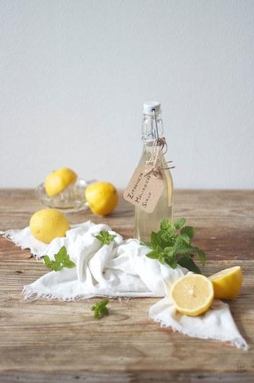 Rezept Zitronenmelissensirup